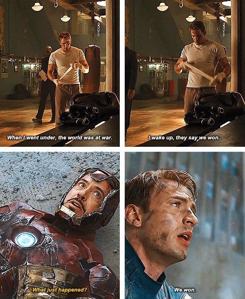 CaptainAmerica knows how to fight a war Sleep through it