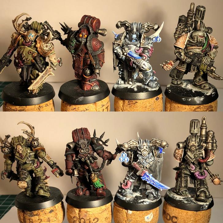 Death Guard alternate colour schemes  - warhammer