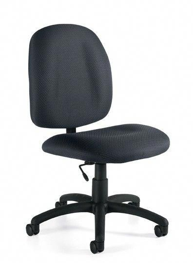 Offices To Go 11650 Cheap Armless Computer Task Chair 5 Star Base #cheapcomputerchairs  sc 1 st  Pinterest & Offices To Go 11650 Cheap Armless Computer Task Chair 5 Star Base ...