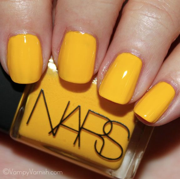Nars Thakoon Amc Yellow Nail Polish Makeup