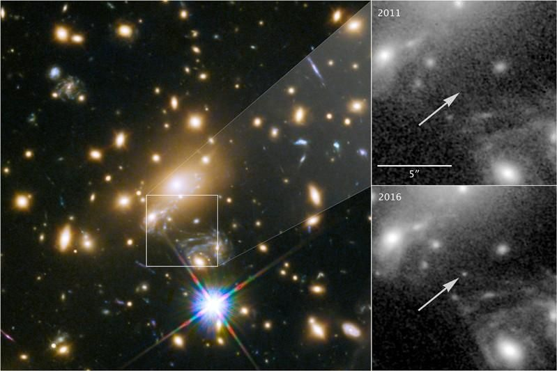 Scientists have detected the most distant star ever viewed, a blue behemoth located more than halfway across the universe and named after the ancient Greek mythological figure Icarus.