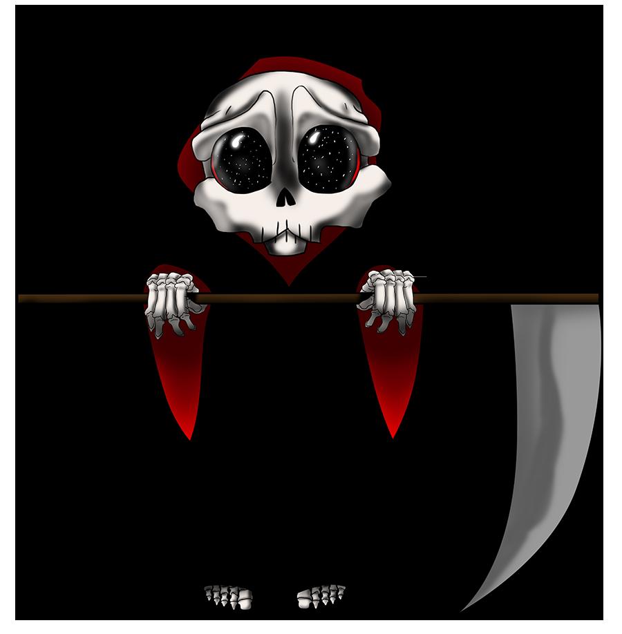 Reaper Chibi by ZeroJigokuviantart on deviantART