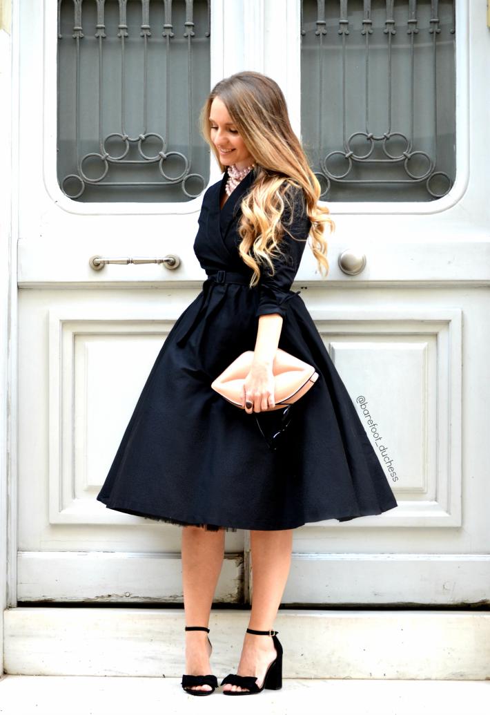 Petite robe noire new look