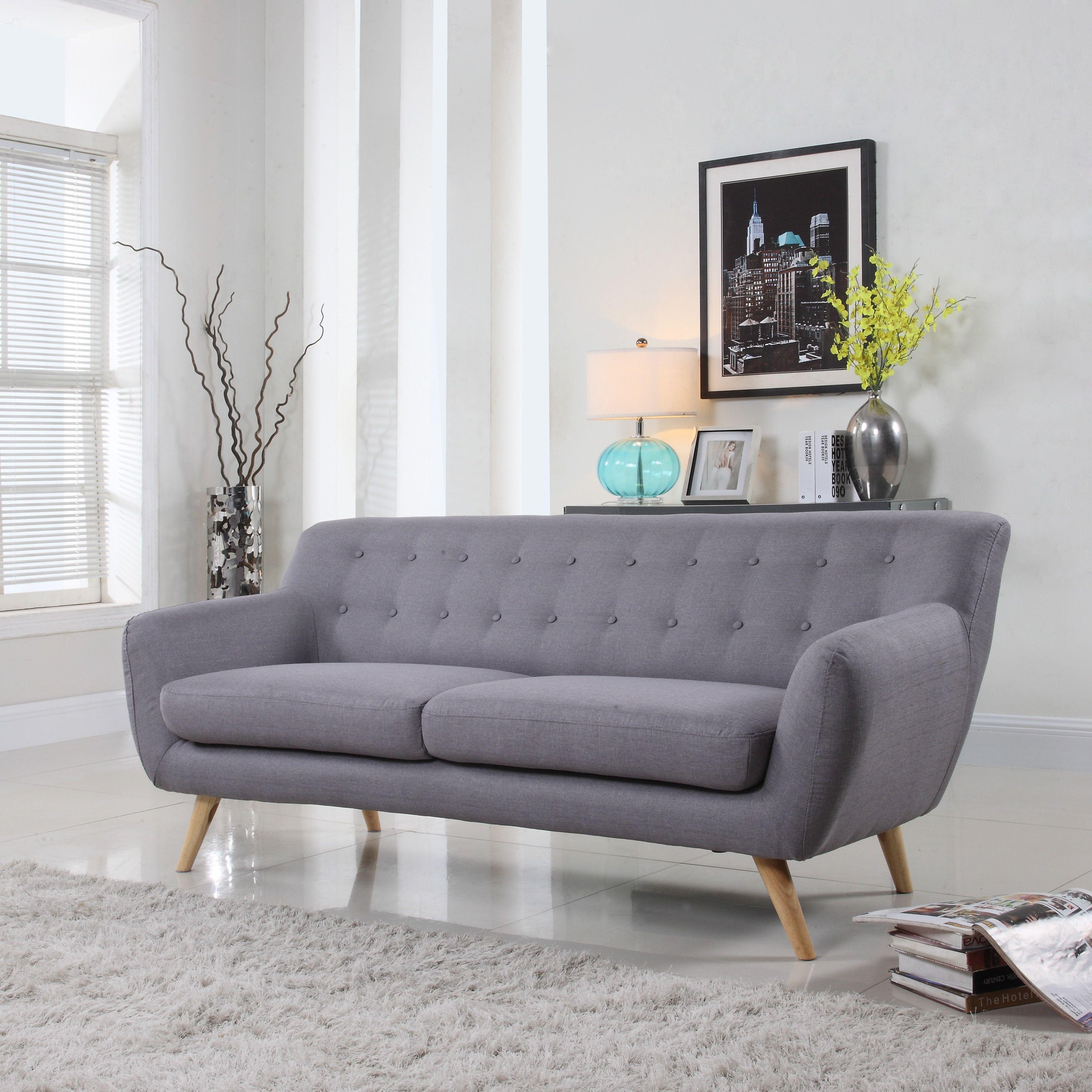 Madison Mid Century Modern Sofa Living Room Furniture Assorted