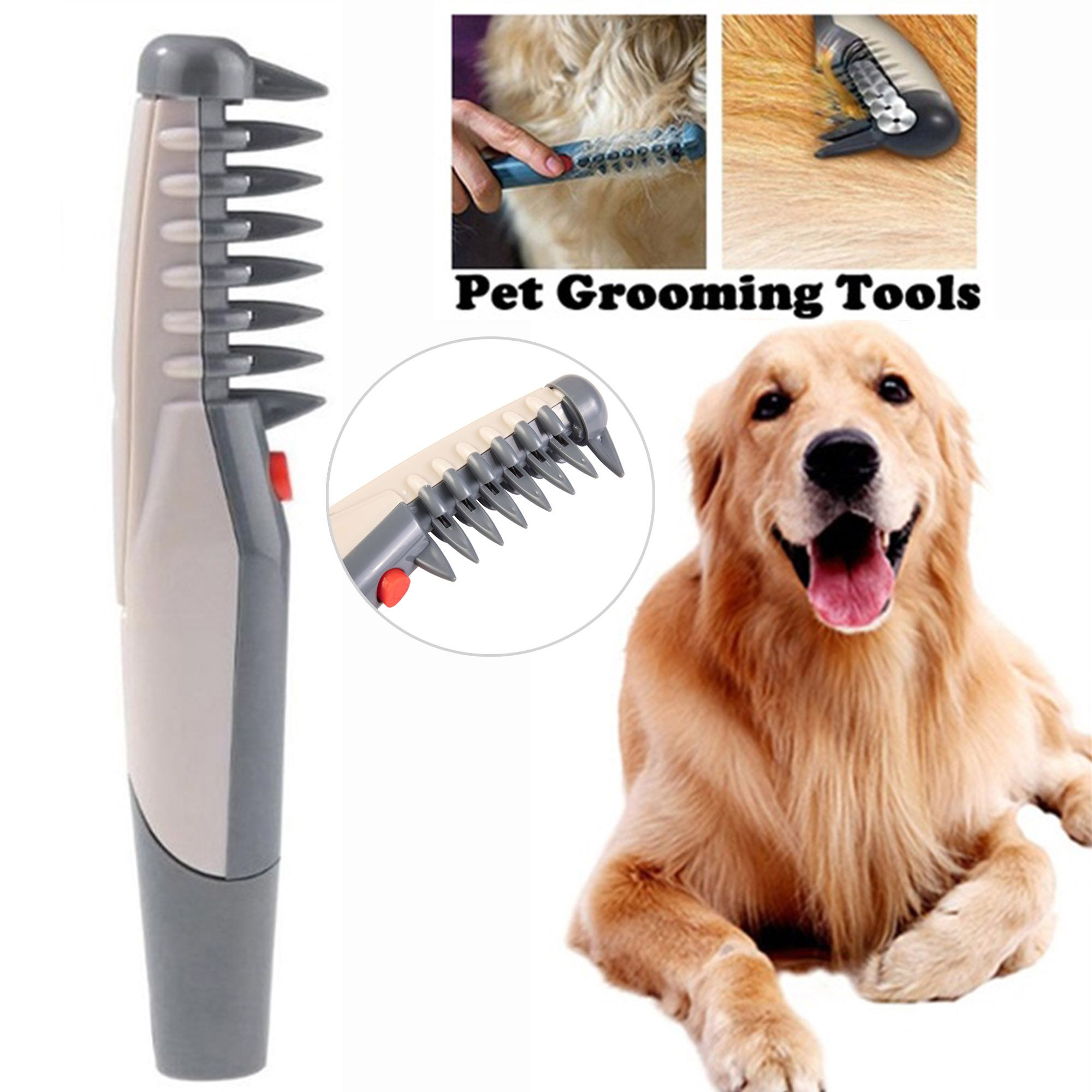 Nk Home Quiet Electric Pet Trimmer Clipper Shaver Grooming Kit Set For Pet Cat Dog Hair Walmart Com In 2020 Dog Hair Grooming Kit Pet Grooming Tools