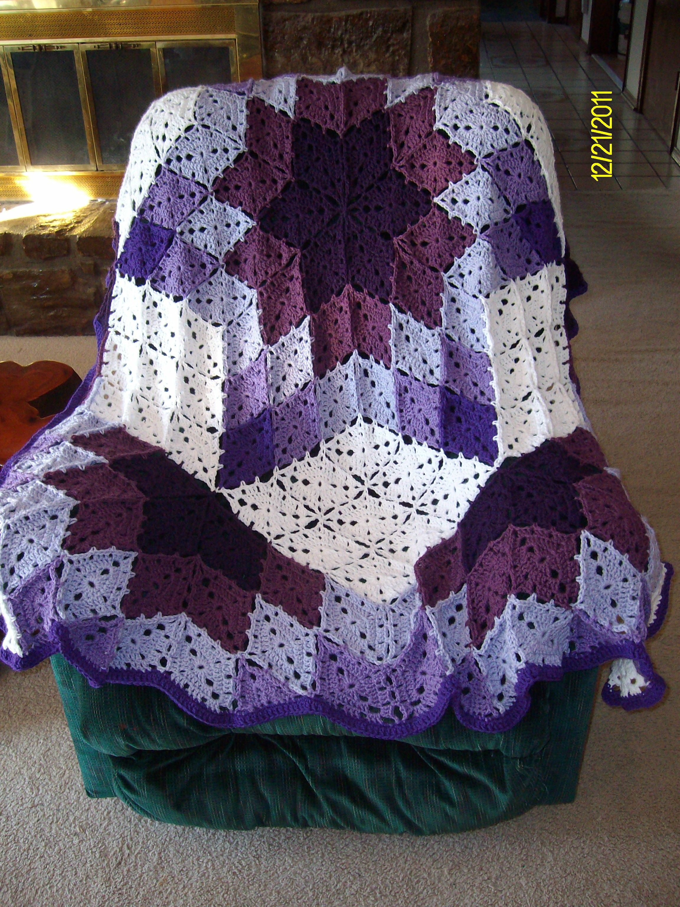 Prairie star afghan made for shawna palmer in 2011 completed prairie star afghan made for shawna palmer in 2011 bankloansurffo Image collections