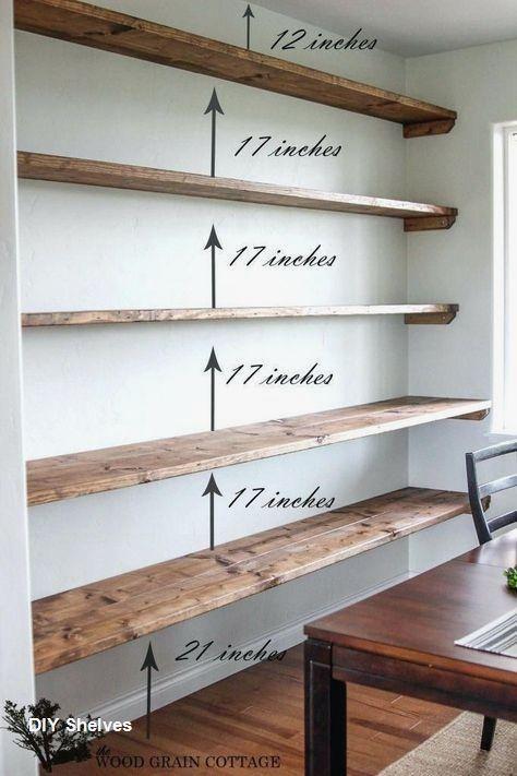 Easy DIY Shelves to Make