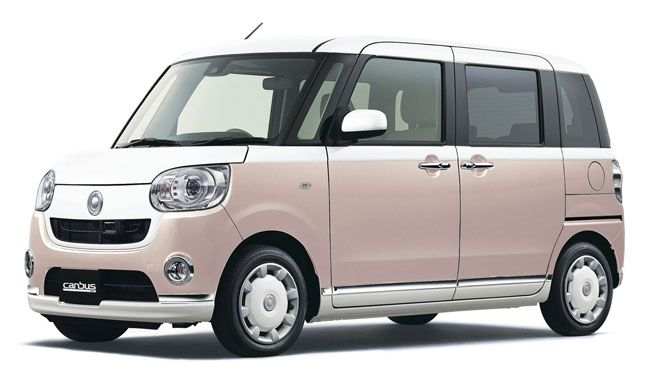 Retro Style Daihatsu Move Canbus Daihatsu Cute Cars Car