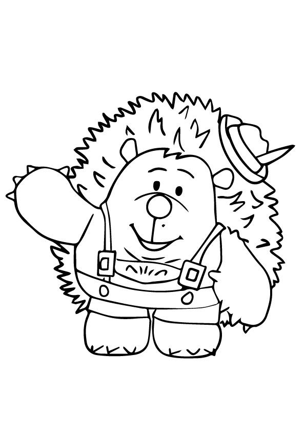 Top 10 Porcupine Coloring Pages For Toddlers With Images Toy