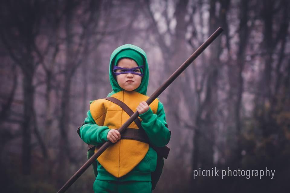 diy teenage mutant ninja turtle costume for kids donatello - Teenage Mutant Ninja Turtles Halloween Costumes For Kids