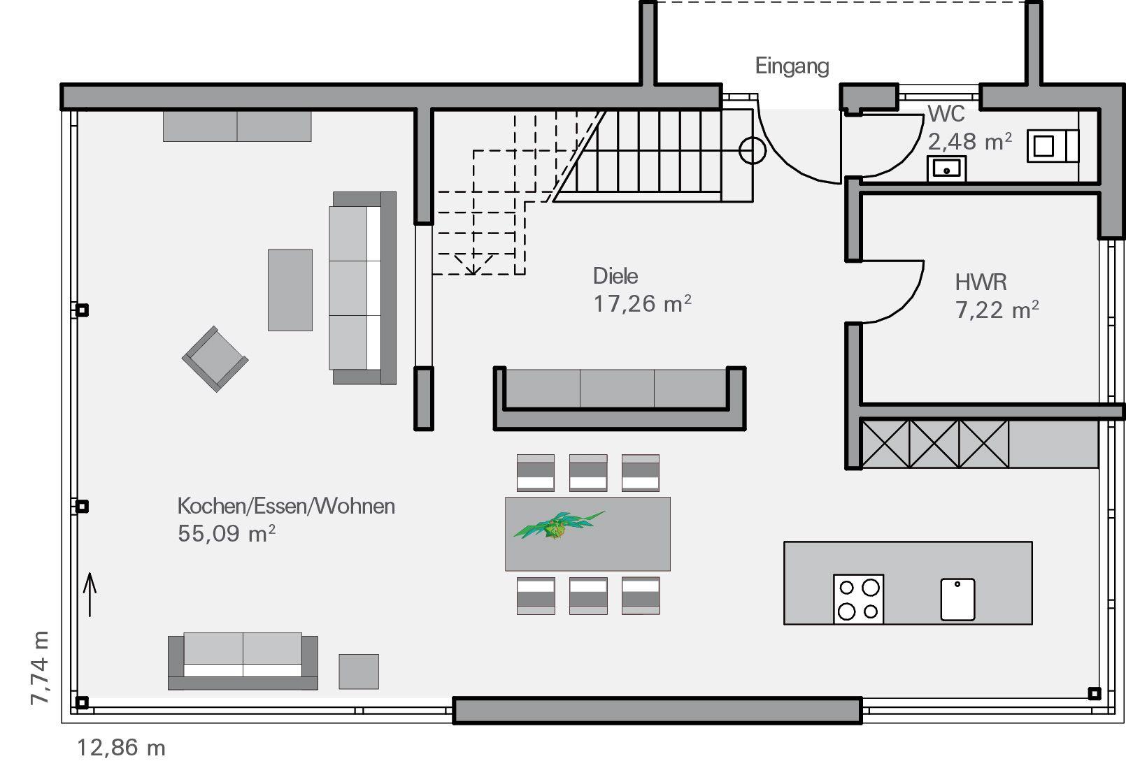 grundriss eg immel grundrisse pinterest grundrisse magazin und h uschen grundrisse. Black Bedroom Furniture Sets. Home Design Ideas