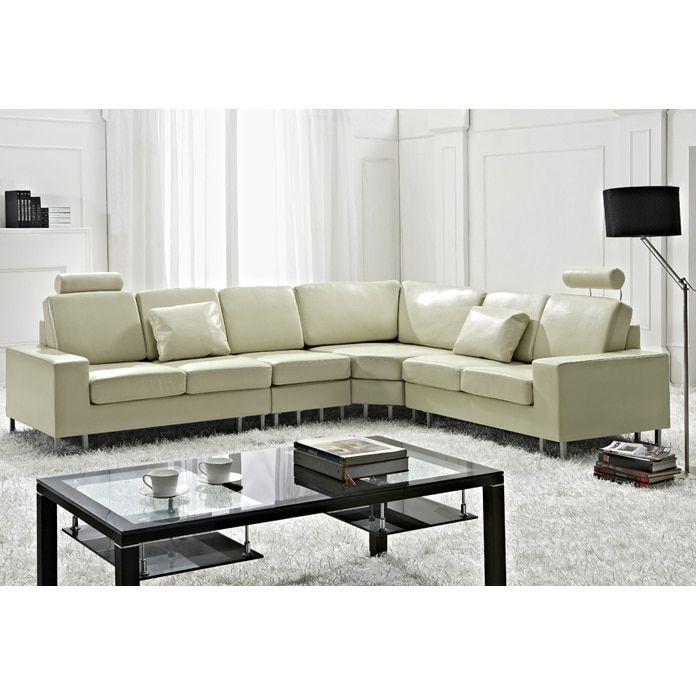 Velago Stockholm Contemporary Design Sectional Sofa by Beliani