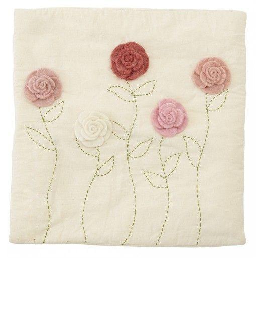 The Little Market - little flower pillow case