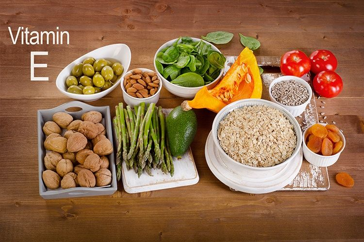foods high in vitamin e for skin and hair