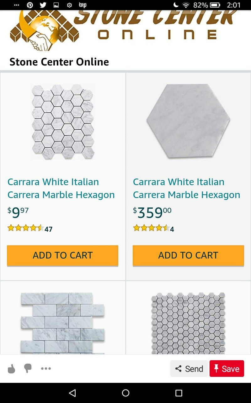 Hexagon, Bathroom Flooring, Carrera