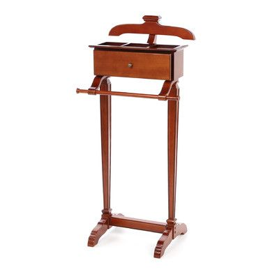 Powell Furniture Marquis Cherry Men's Valet Stand