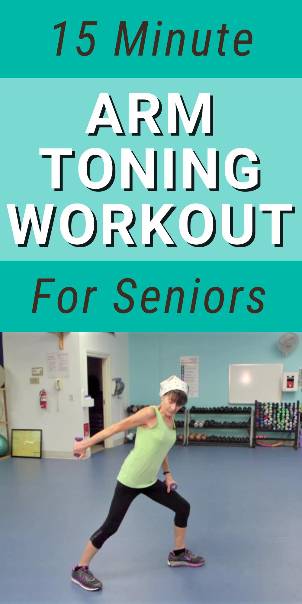 15 Senior Arm Workout