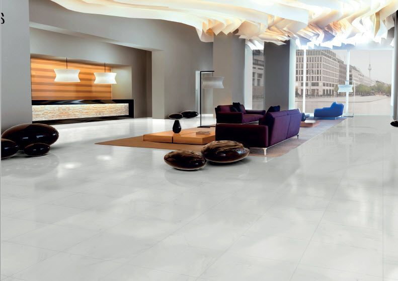Classic Porcelain Rendition Of The Calacatta Marble Honed Finish 1200 X 600cm Also Available As 75 X 37 5cm 60 X 60cm 6 House Tiles Matt Porcelain Tiles Home