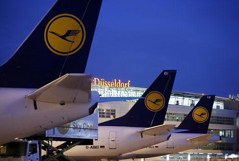 Lufthansa reduziert USFlüge ab Düsseldorf Flughafen