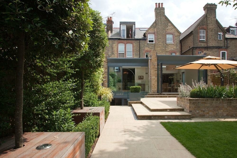 Garden and rear extension dream house pinterest rear for Garden design ideas victorian terrace