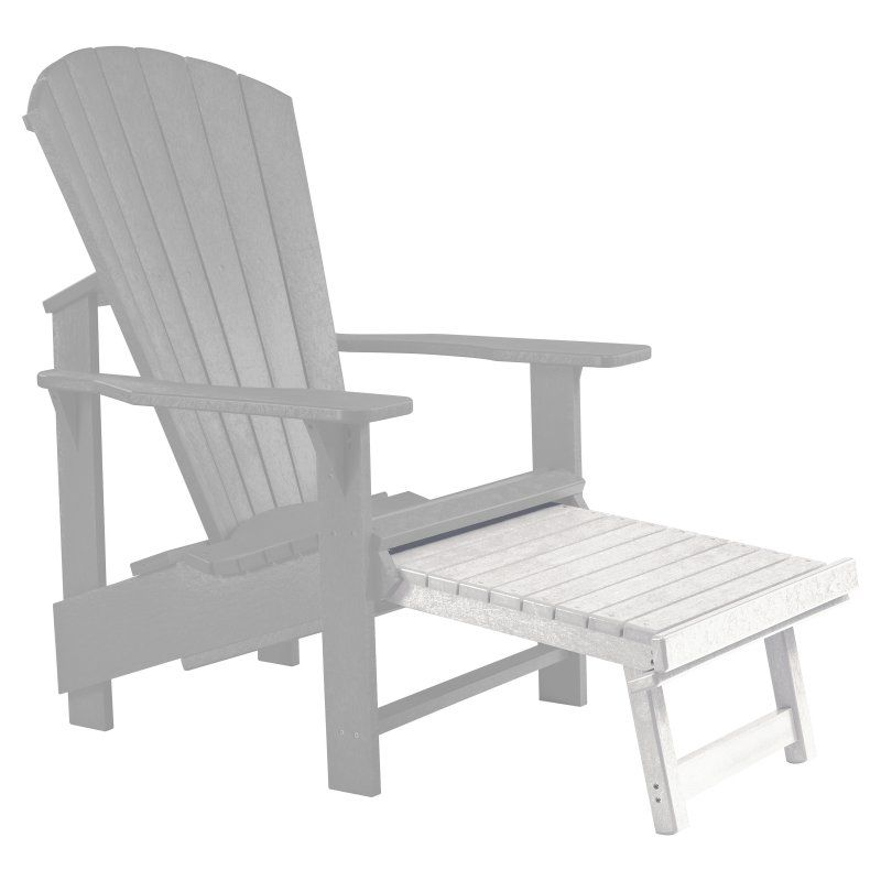 Unique Adirondack Chair and Stool