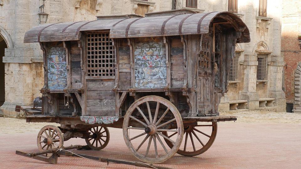 Caravan Worker Fantasy Art