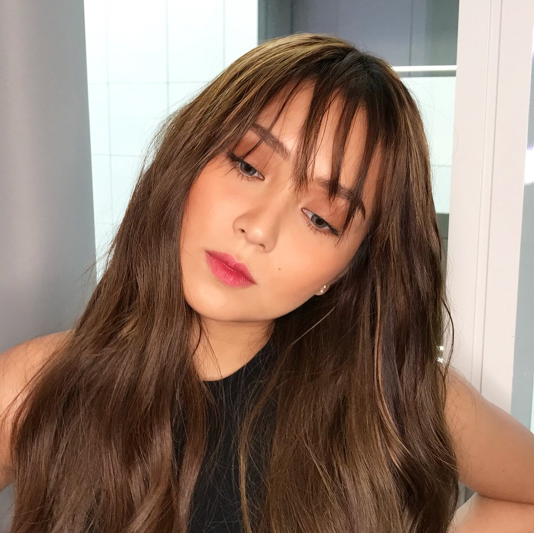 4 042418 Kathryn Bernardo Kathryn Bernardo Hairstyle Celebrity Hair Colors Celebrity Hair Color Brunette