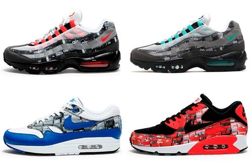 """the best attitude df0ae 7a918 Check Out The Atmos X Nike Air Max """"WE LOVE NIKE"""" Pack"""