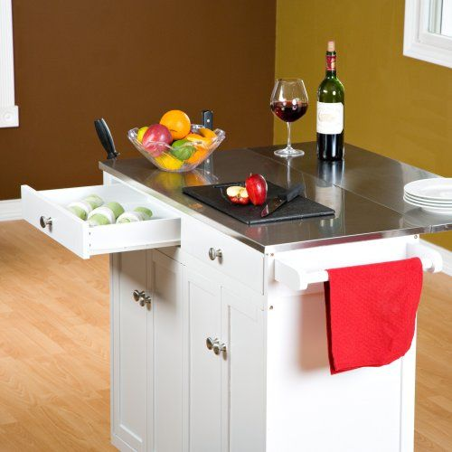 Unique Kitchen island On Wheels with Stools
