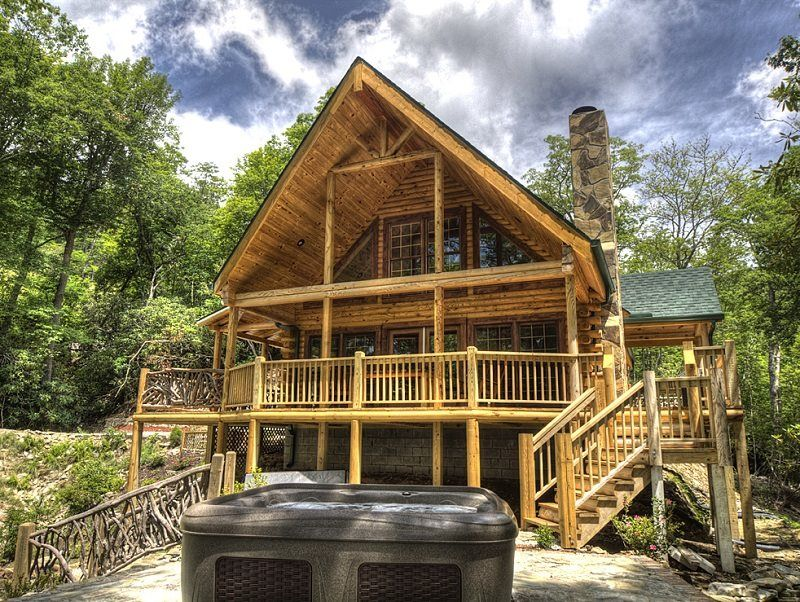 and nc pinterest vacation pin city near rental the cabins dreams in cabin mountaintop bryson rentals smokies luxury