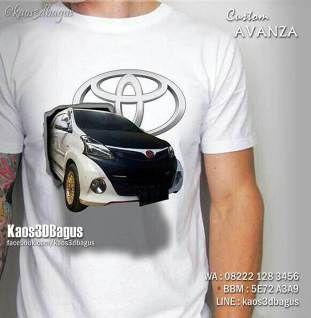 Kaos Toyota Avanza Custom Mobil Avanza Kaos 3d Mobil Mobil Avanza Mobil Indonesia Cool T Shirts