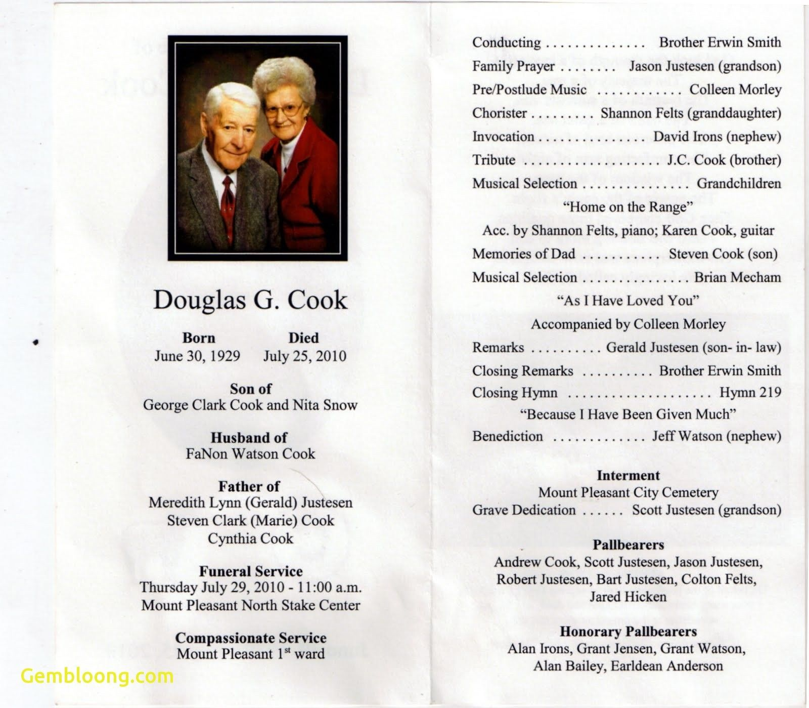 37 Obituary Templates Download Editable Professional Within