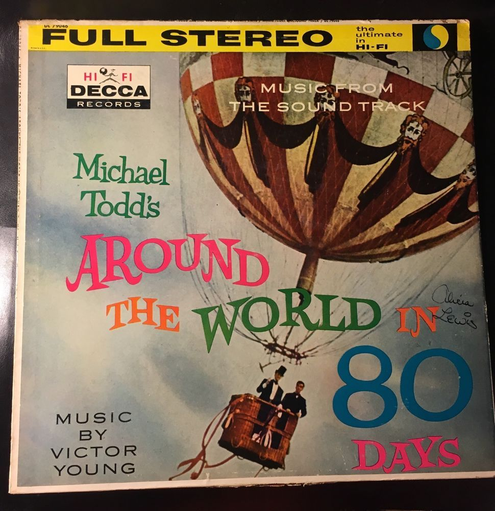 Around The World In 80 Days Original Soundtrack Lp 1957 Around