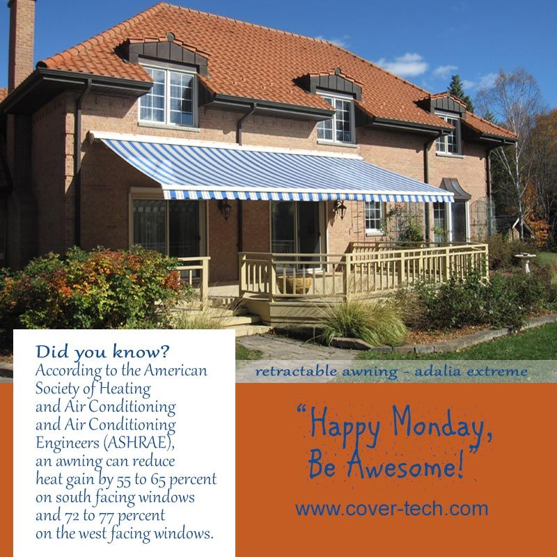 Retractable Awning Adalia Extreme Extenda Plus Etc Happy Monday Be Awesome Retractable Awning Retractable Awning Patio Window Awnings