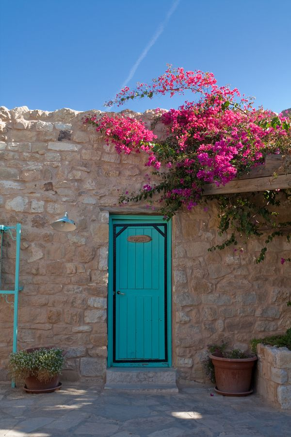 The Turquoise Door by Yair Karelic, via 500px