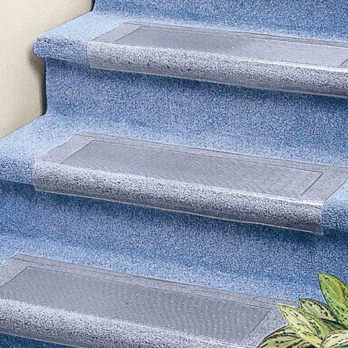 Clear Stair Treads Carpet Protector Clear Vinyl Will Look Good For Years Don T Hide Your Carpet Protect It With Carpet Stairs Carpet Staircase Stair Treads