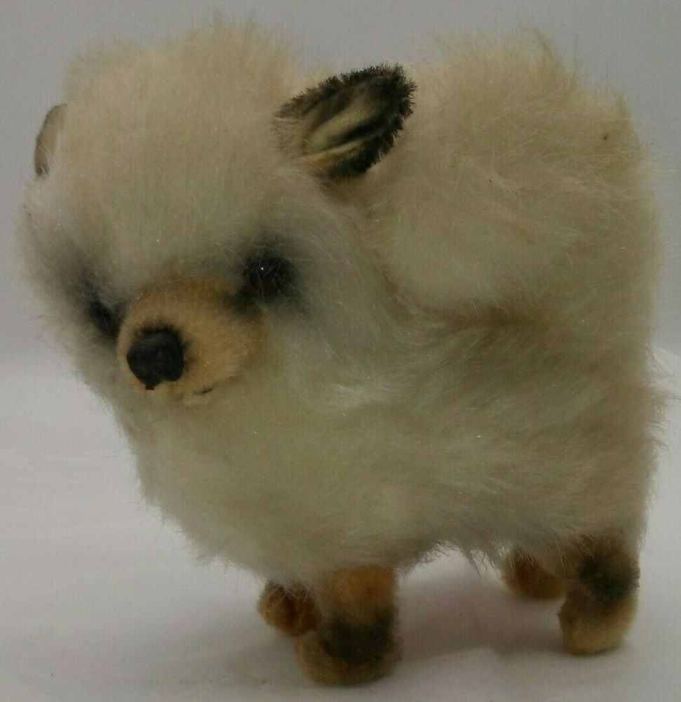 Kamar Mohair Dog Puppy Plush Japan Stuffed Animal W Orig Label Fluffy Curly Tail Kamar Dogs And Puppies Plush Stuffed Animals Pets For Sale