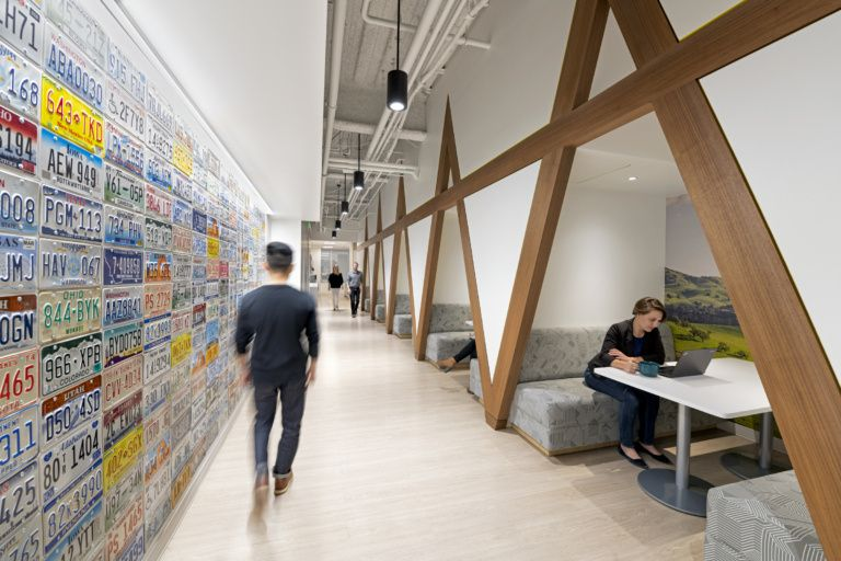 Office Tour AAA Offices Walnut Creek Workplace design