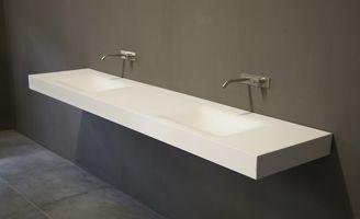 Kleine Waskom Toilet : Wastafel solid surface corian wastafels design waskom matte