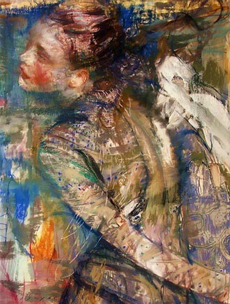 Charles J. Dwyer, 1961 ~ Expressionist painter