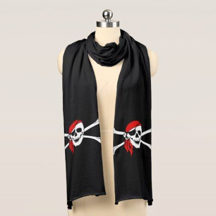 #Pirate Skull Scarf - #Halloween happy halloween #festival #party #holiday