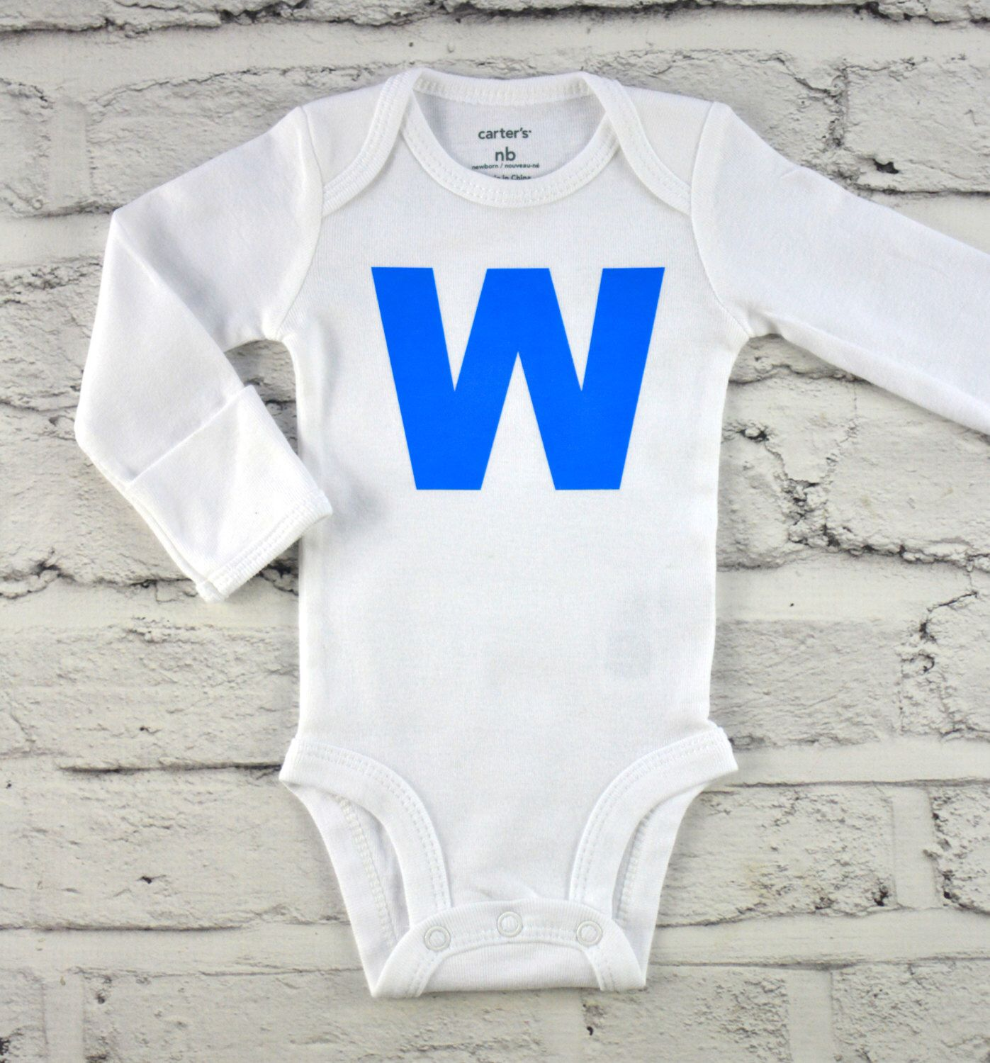 Cubs W Chicago Cubs Chicago Baby Clothes Premie NICU Preemie
