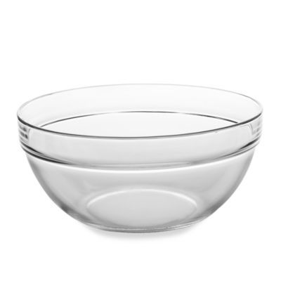 Luminarc 10 25 Inch Tempered Glass Mixing Bowl Glass Mixing