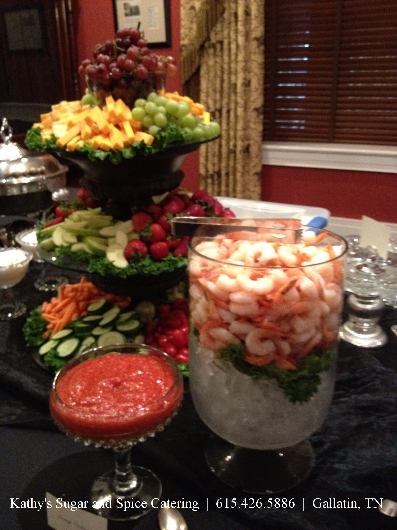 Christmas Party Catering Ideas Part - 29: Love This Idea For Chilled Gulf Shrimp Cocktail