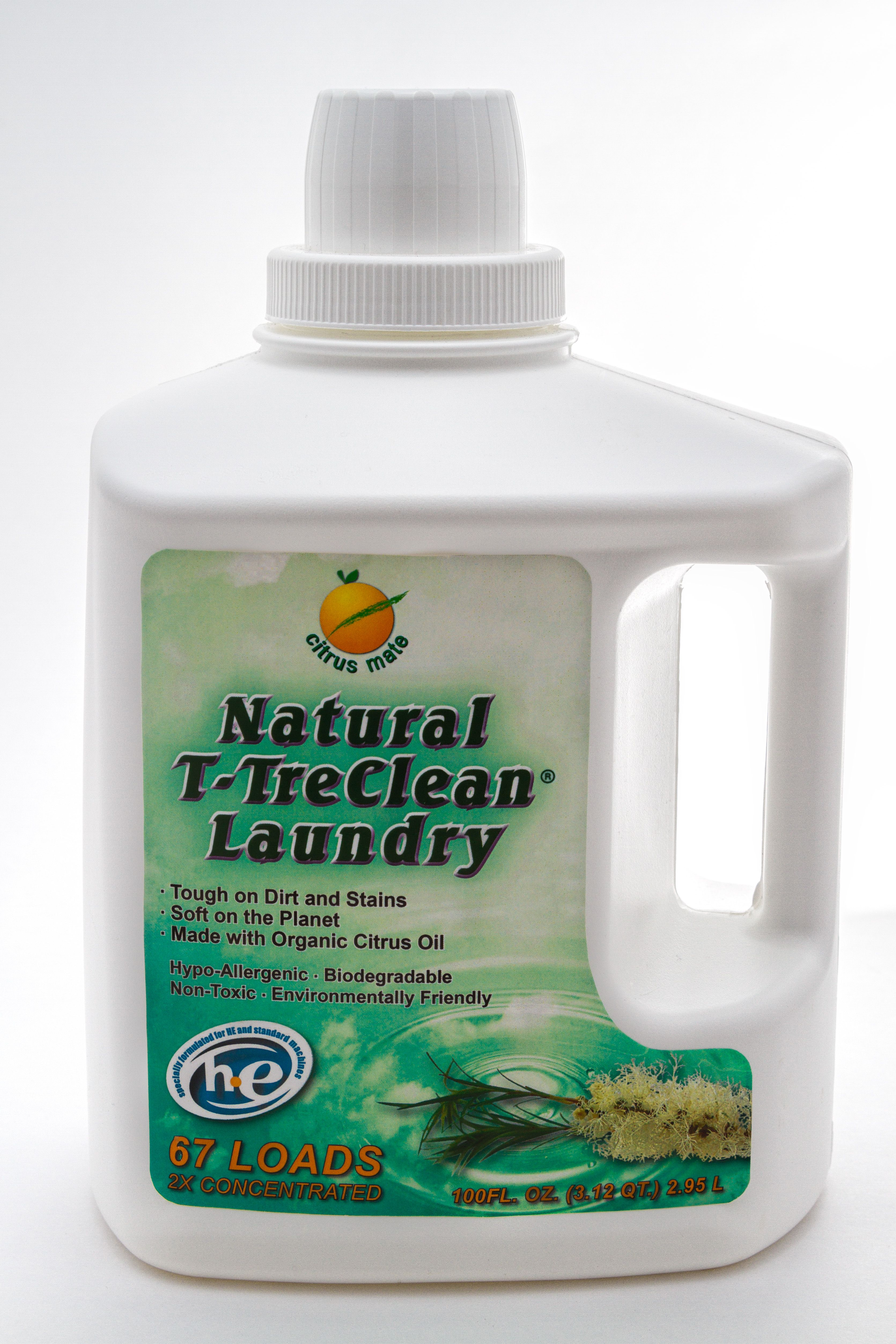 Our T Tre Laundry Detergent Is A Concentrated High Efficiency