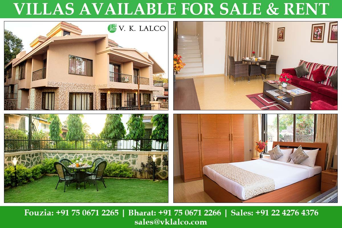 Beautiful villas for sale and rent in the heart of