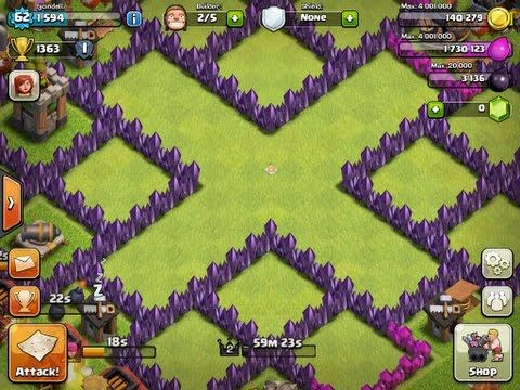 Clash Of Clans Town Hall Level 7 Base Layouts Coc Th7 Clash