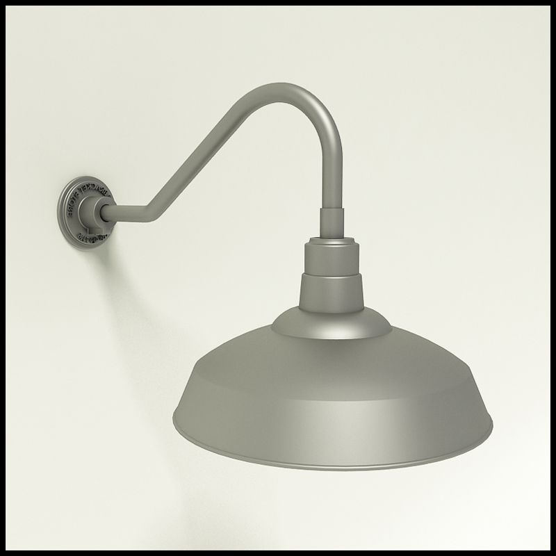 Outdoor Gooseneck Light Fixture New 17Inwarehouse Shade Goosenck Light  5 Gooseneck Arm Options Review