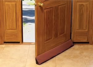 Clip On Door Draft Stopper. Saves Energy by Staying in Place! Simple to install,...