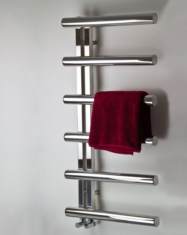 Tubular Polished Stainless Steel Towel Warmer 58e Towel Rail Towel Warmer Heated Towel Rail